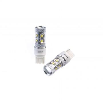 Светодиодные лампы Optima Premium CREE 50W W21W - 7440 (W3X16d) белые