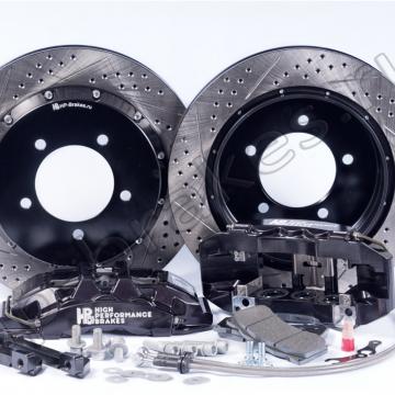 Тормозная система HP Brakes на заднюю ось, D20, 6 поршней, диск 405х34 мм
