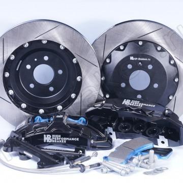 Тормозная система HP Brakes Ultimate на переднюю ось, D18, 6 поршней, диск 365х34 мм