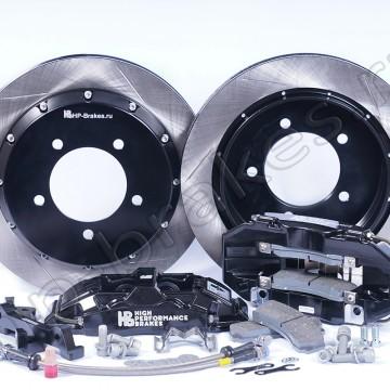 Тормозная система HP Brakes Ultimate на заднюю ось, D18, 4 поршня, диск 365х30 мм